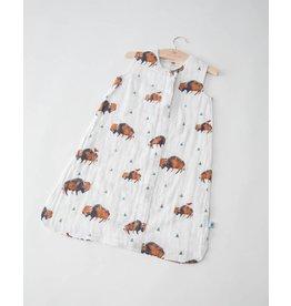 Little Unicorn Cotton Muslin Sleep Bag Large - Bison