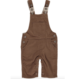 Me + Henry Brown Cord Overalls
