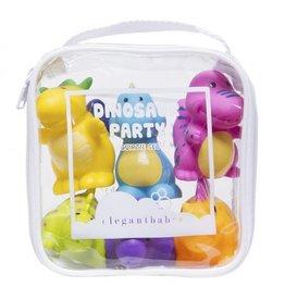 Elegant Baby Dinosaur Party Squirties Bath Toys