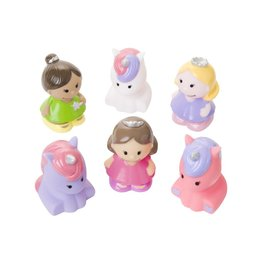 Elegant Baby Princess Squirties Bath Toys