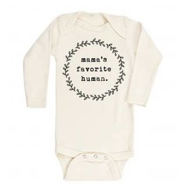 Tenth & Pine Mamas Favorite Human LS Bodysuit