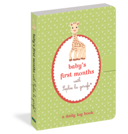 Workman Publishing Baby's First Months With Sophie the Giraffe