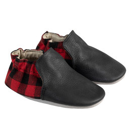 Robeez Soft Soles, Hunter Black and Red