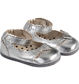 Robeez Mini Shoes, Catherine Silver