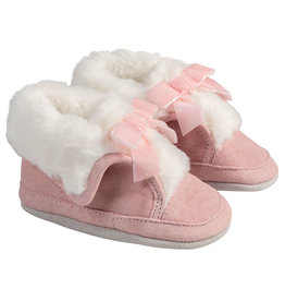 Robeez Soft Soles, Willa Boot - Pink