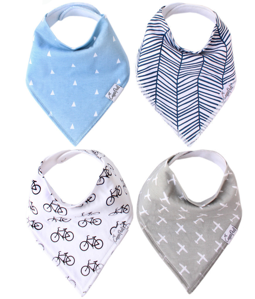 Copper Pearl Bibs - Cruise Set - 4 pack