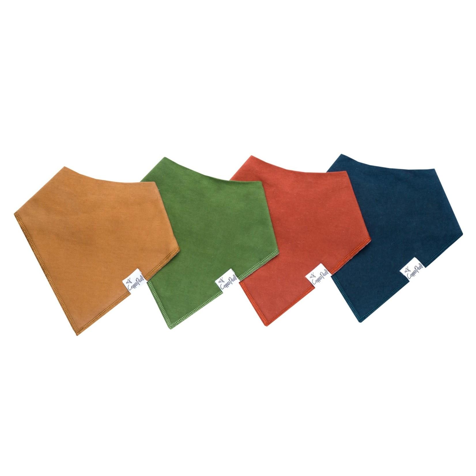 Copper Pearl Bibs - Ridge Set - 4 pack