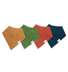 Copper Pearl Bibs - Ridge Set - 4 pack