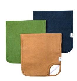 Copper Pearl Burp Cloths (3 pack) - Ridge