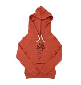 Loved Baby Organic Kids Graphic Hooded Sweatshirt - Maple Carrot
