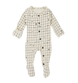 Loved Baby Organic Footed Overall - Beige Coordinates