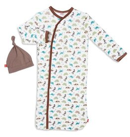 Magnetic Me Dinogami Modal Magnetic Sack Gown Set NB-3M