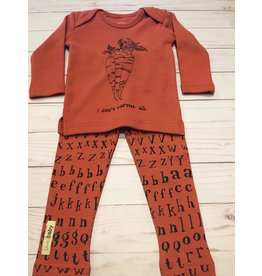 Loved Baby Organic Maple Carrot Letters Set