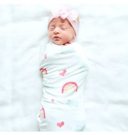 Saranoni Stretchy Swaddle Over the Rainbow