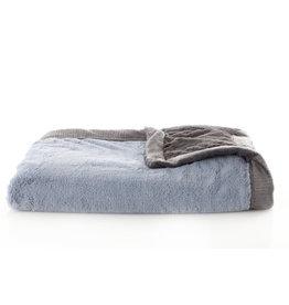 "Saranoni Receiving Blanket (30"" x 40"") Storm Cloud Lush"