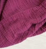 Classic Muslin Swaddle - Red Plum