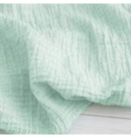 Sugar House Classic Muslin Swaddle - Mint