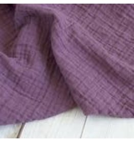 Sugar House Classic Muslin Swaddle - Dusty Violet
