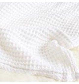Sugar House Cloud Blanket - White