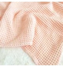 Sugar House Cloud Blanket - Pale Peach