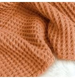 Sugar House Cloud Blanket - Copper
