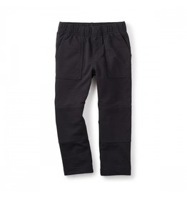 Tea Collection French Terry Playwear Pants - Jet Black
