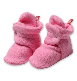 Zutano Cozie Fleece Bootie - Hot Pink 3M