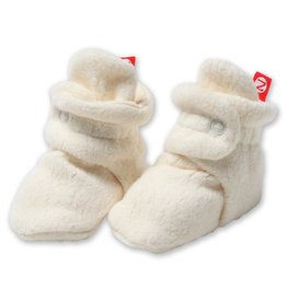 Zutano Cozie Fleece Bootie Cream-3M