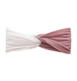 Baby Bling Bows Twist Knot - Mauve, Ballet Pink