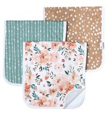 Copper Pearl Burp Cloths (3 pack) - Autumn