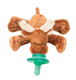 Nookums Pacifier Plushies Buddies - Marley Moose
