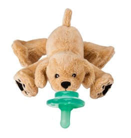Nookums Pacifier Plushies Buddies - Rufus Retriever