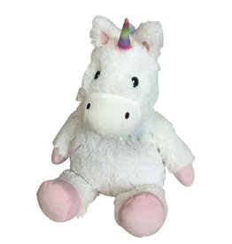 Intelex White Unicorn Cozy Plush