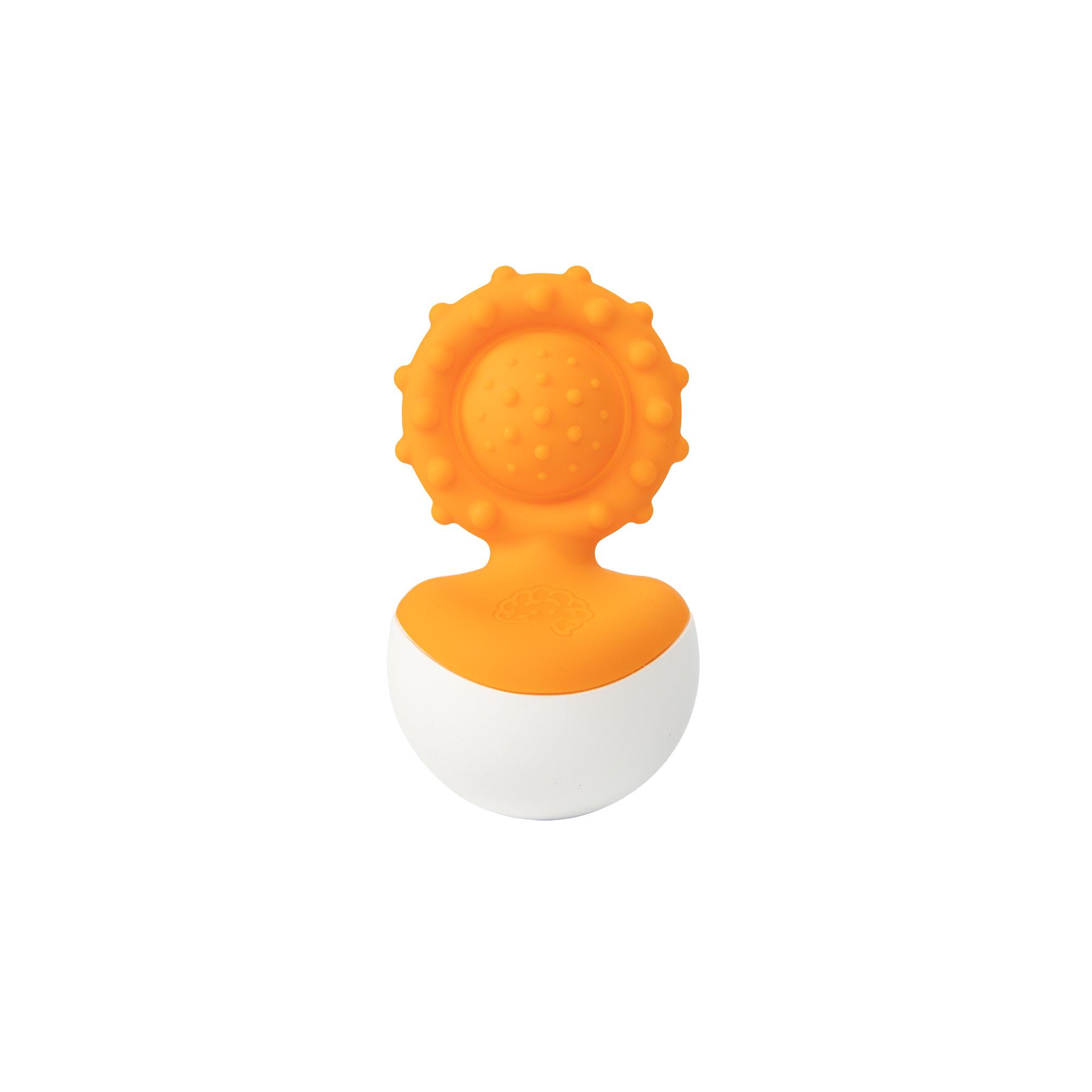 Fat Brain dimpl wobbl, orange