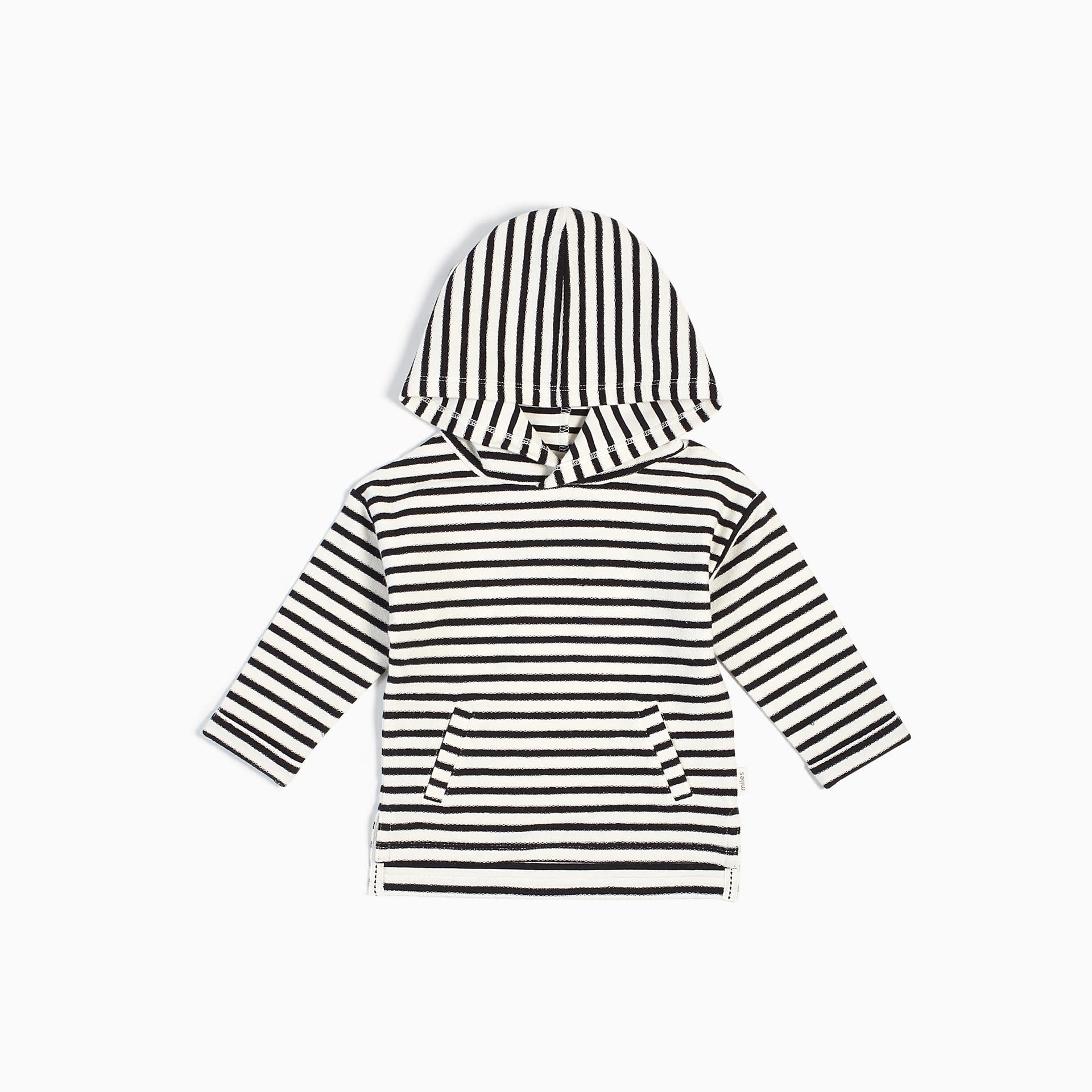Miles Baby Hooded Sweatshirt Knit - Off White