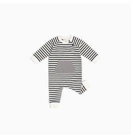 Miles Baby Baby Playsuit Knit - Off White