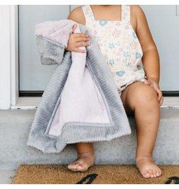 "Saranoni Mini Blanket (15"" x 20"") Lilac Haze Gray Lush"