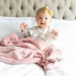 Saranoni Receiving Blanket (30'' x 40'') Ballet Slipper Lush