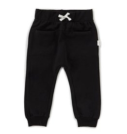 Miles Baby Unisex Jogger Pant Knit - Black