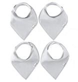 Copper Pearl Bibs - Grey Basics Set - 4 pack