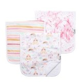 Copper Pearl Burp Cloths (3 pack) - Enchanted