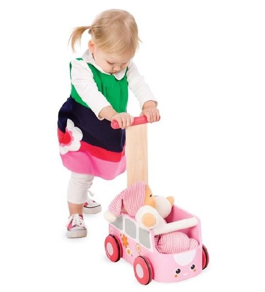 Plan Toys, Inc Van Walker (Pink) -DS