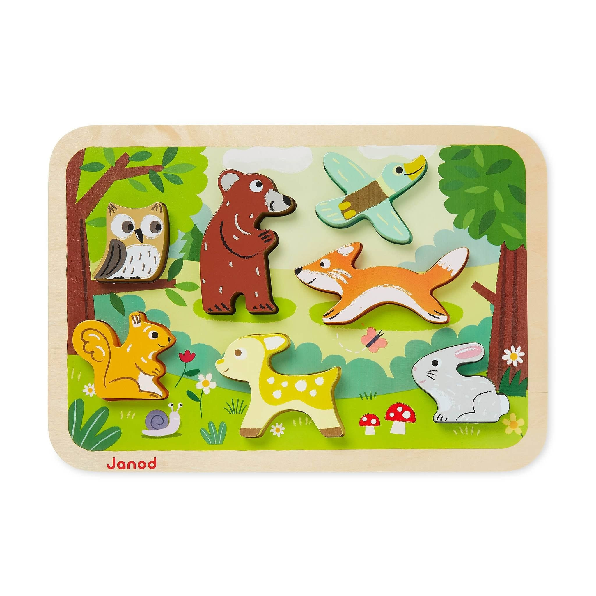Janod Forest Chunky Puzzle