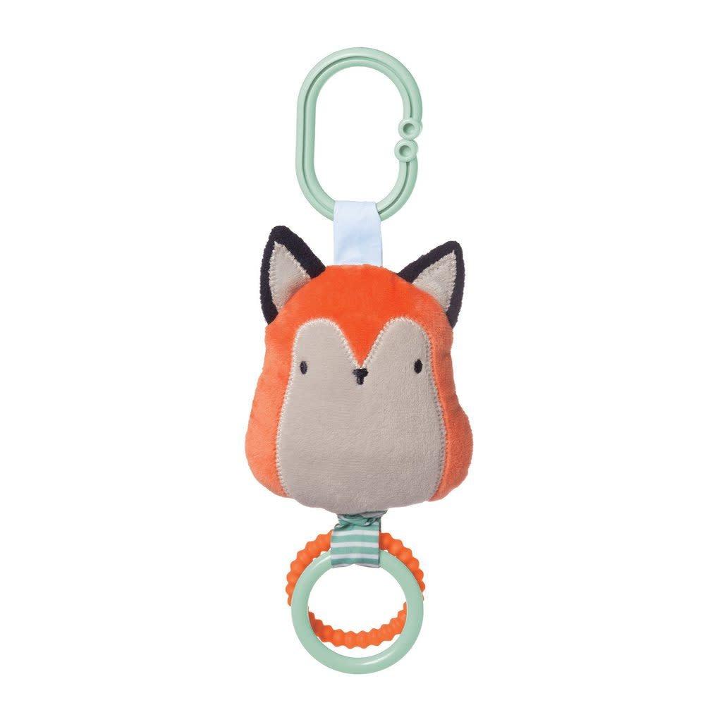 Manhattan Toy Camp Acorn Fox Travel Toy