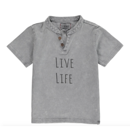 Me + Henry Grey 'Live Life' Tee