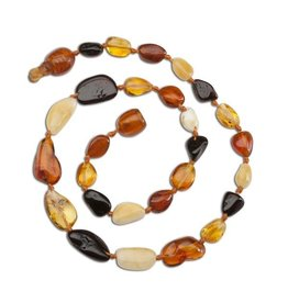 Cherished Moments Baltic Amber Polished Beads - Multi, Medium
