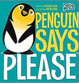 "Capstone Penguin Says ""Please"""