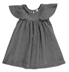 Vignette Lottie Dress Charcoal Dot