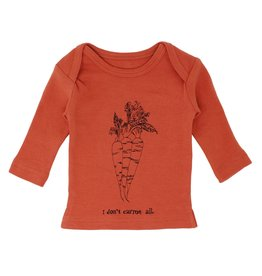 Loved Baby Organic L/Sleeve Shirt - Maple Carrot