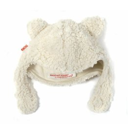 Magnetic Me Magnetic Bears Fleece Hat - Cream